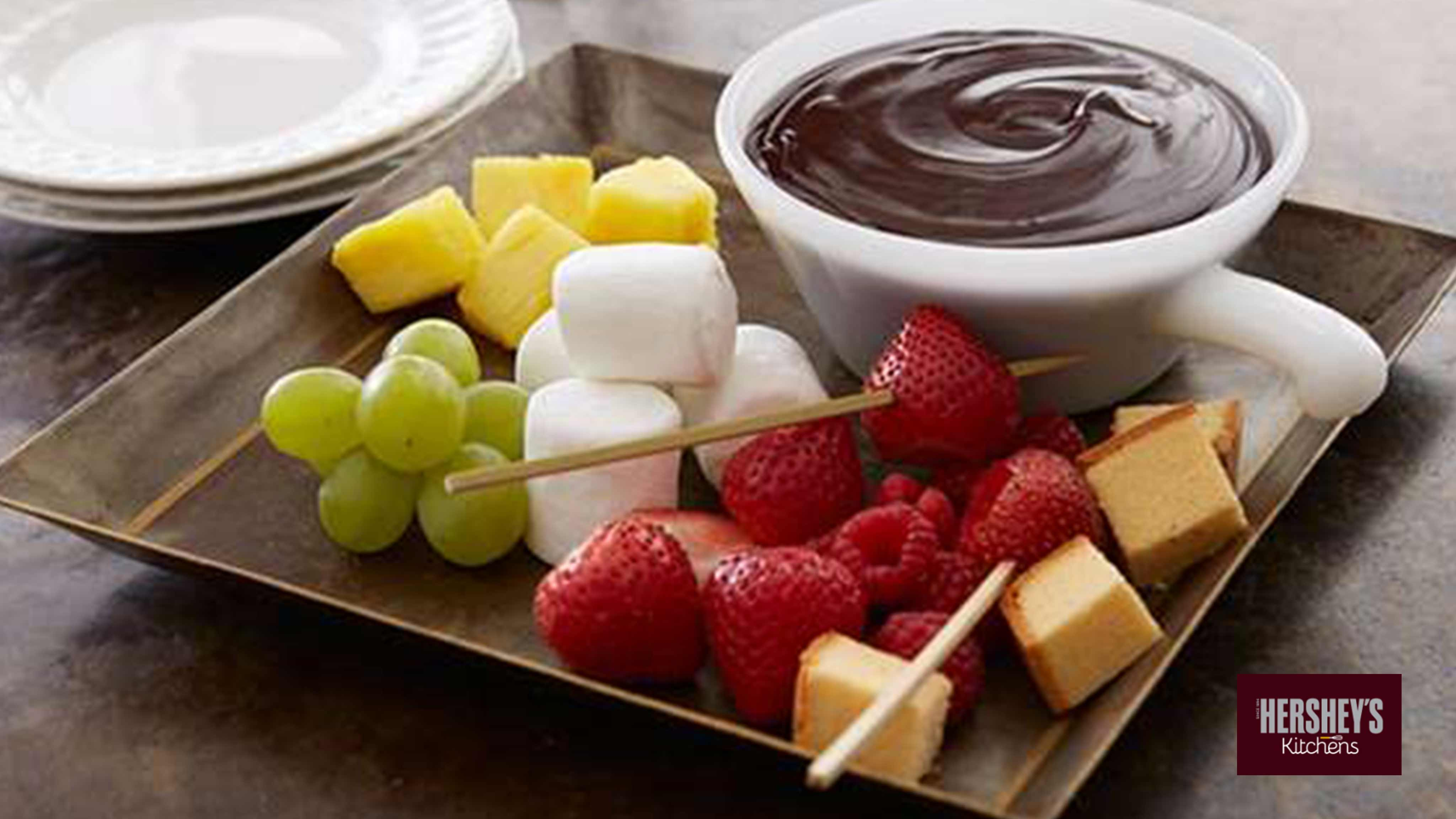 Image for Recipe Special Dark Fudge Fondue