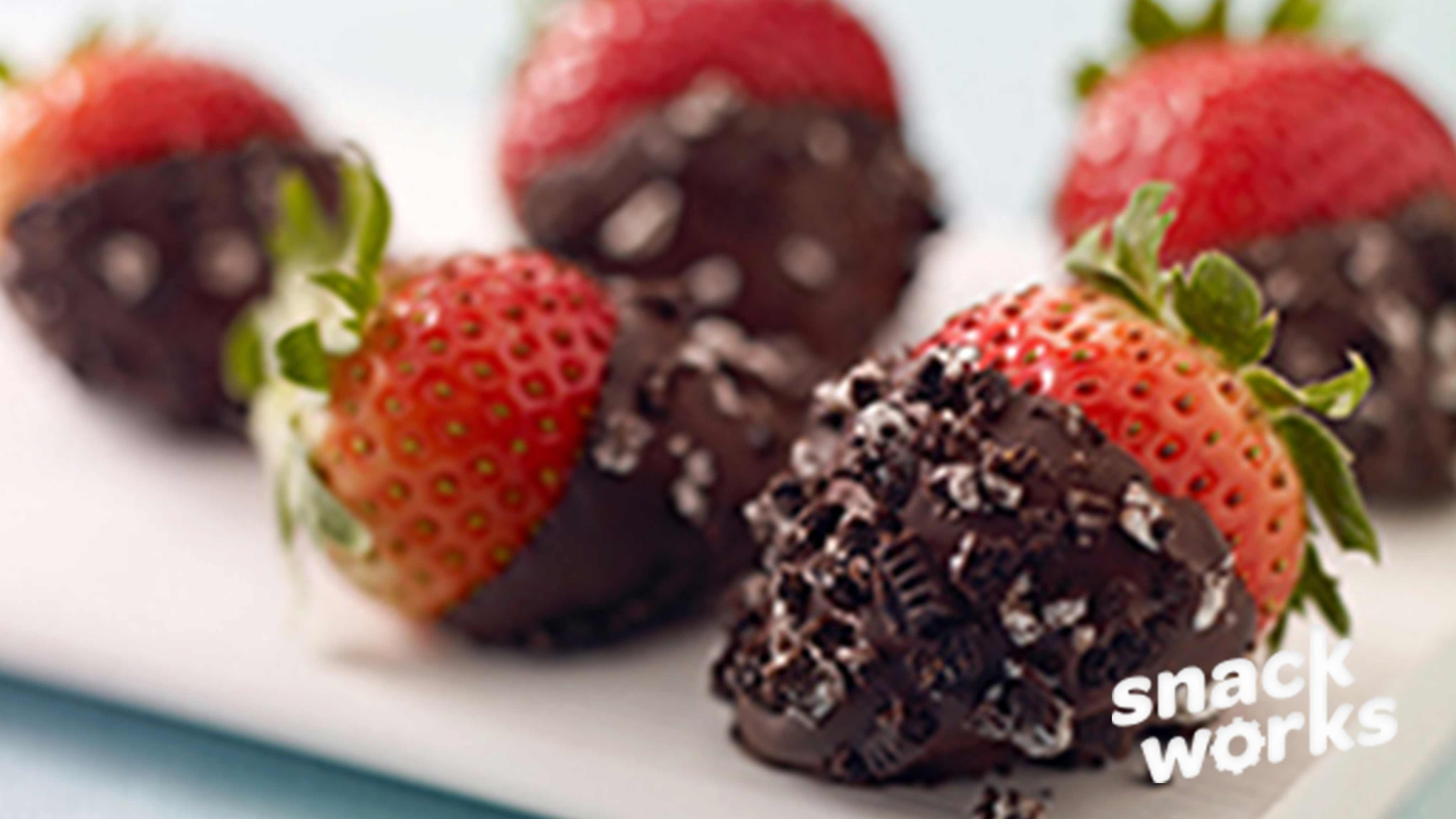 Image for Recipe Double Dipped Strawberries