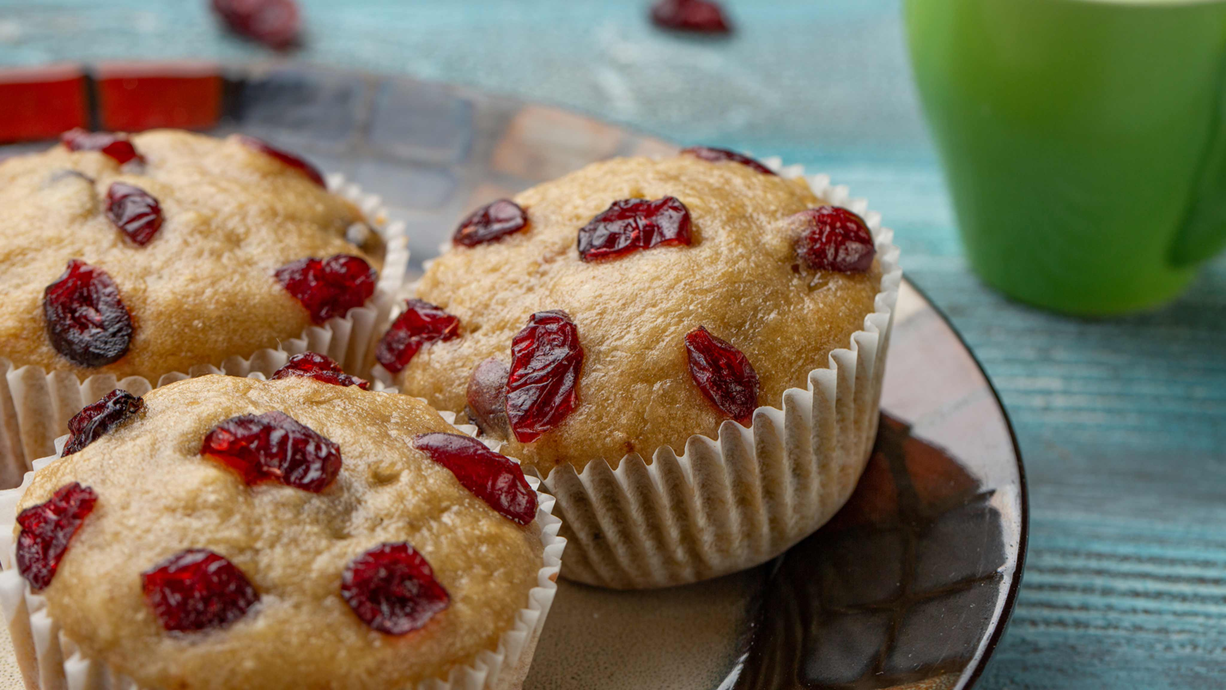 Image for Recipe Dried Cherry Vanilla Cupcakes