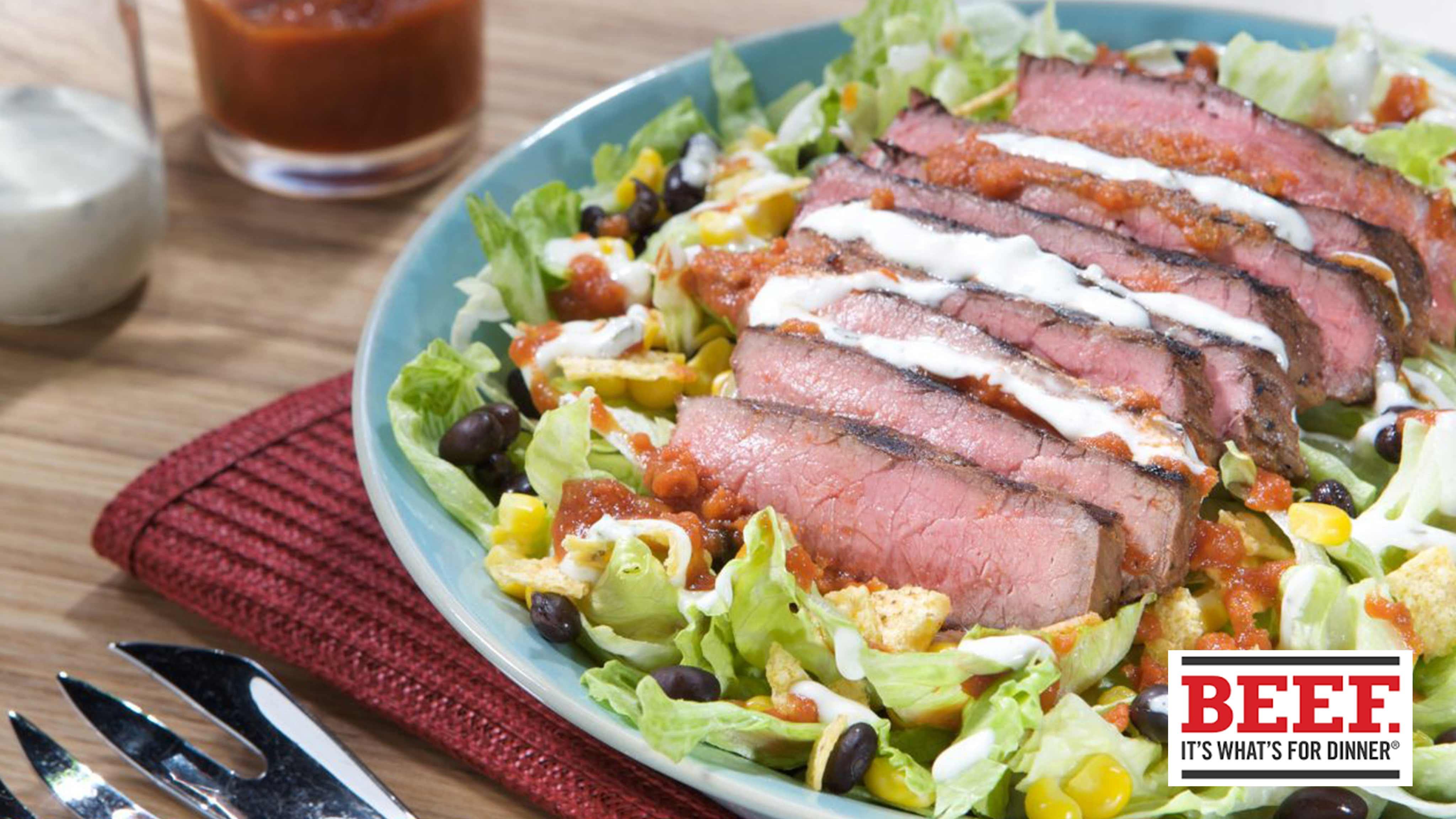 Image for Recipe Top Round Ranch Salad
