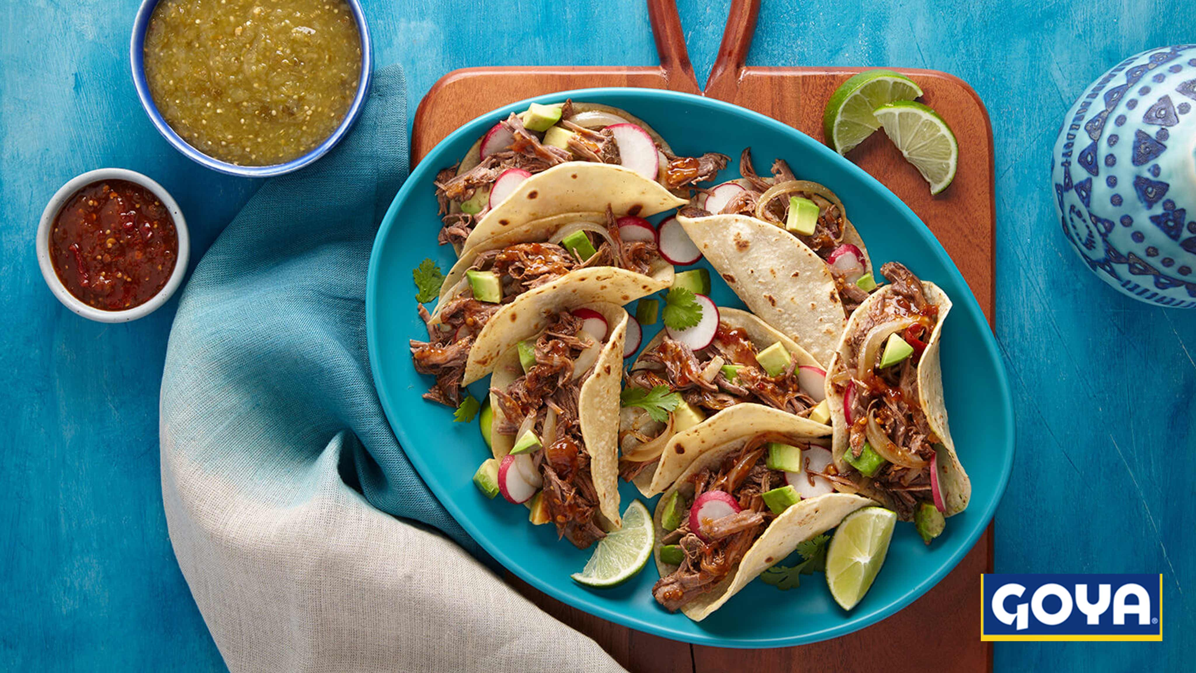 Image for Recipe Barbacoa Street Tacos