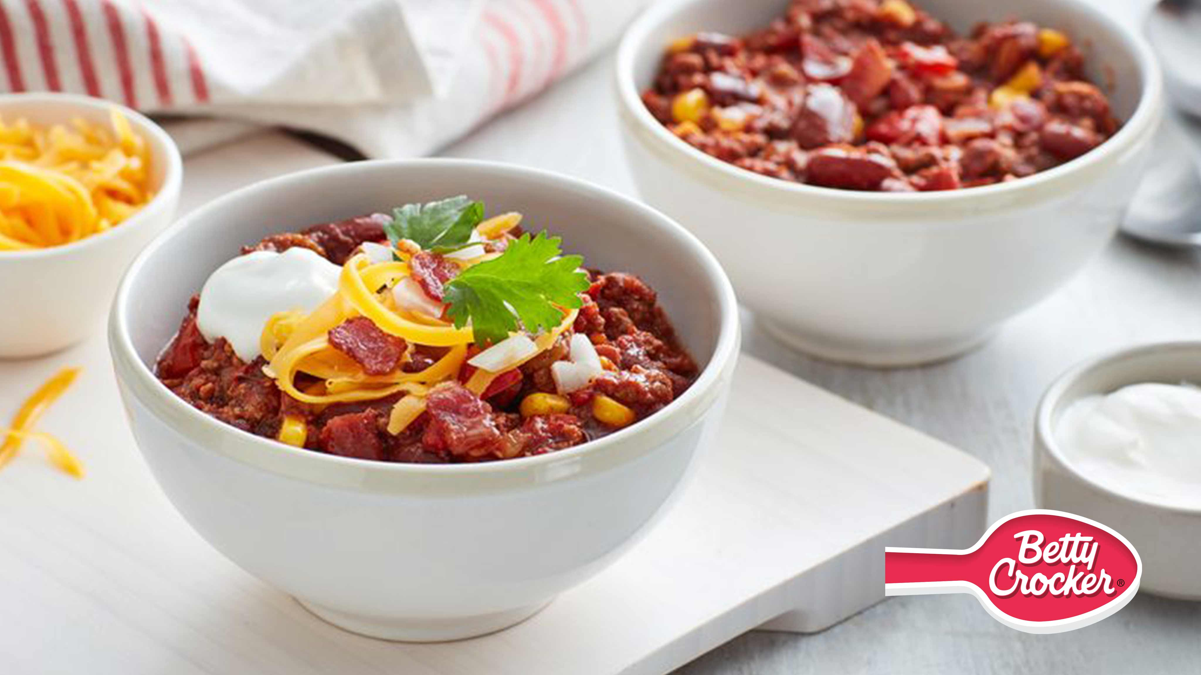 Image for Recipe Slow Cooker Bacon Chili