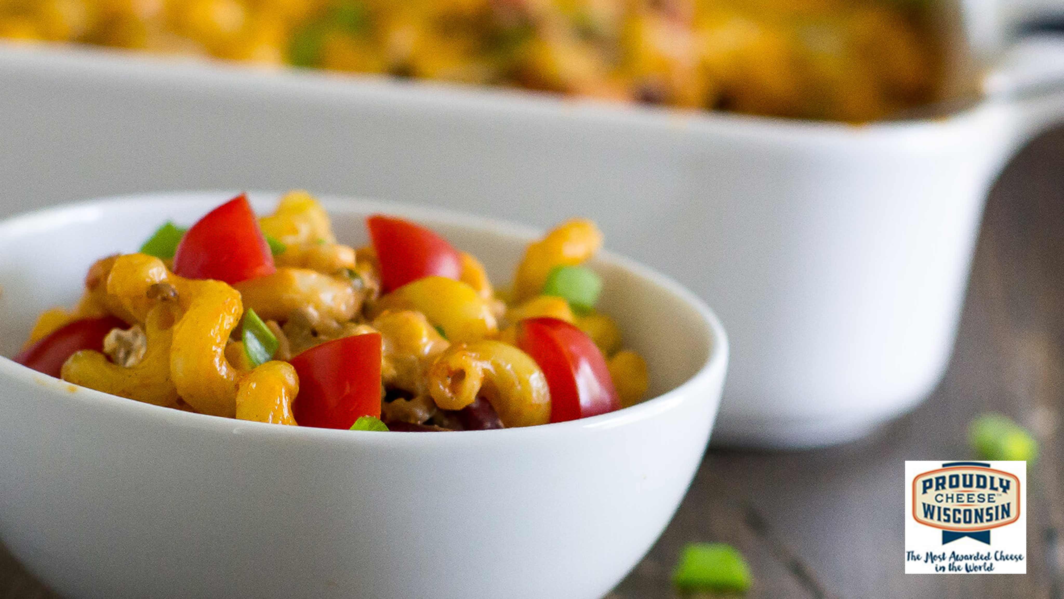 Image for Recipe Taco Macaroni and Cheese Bake