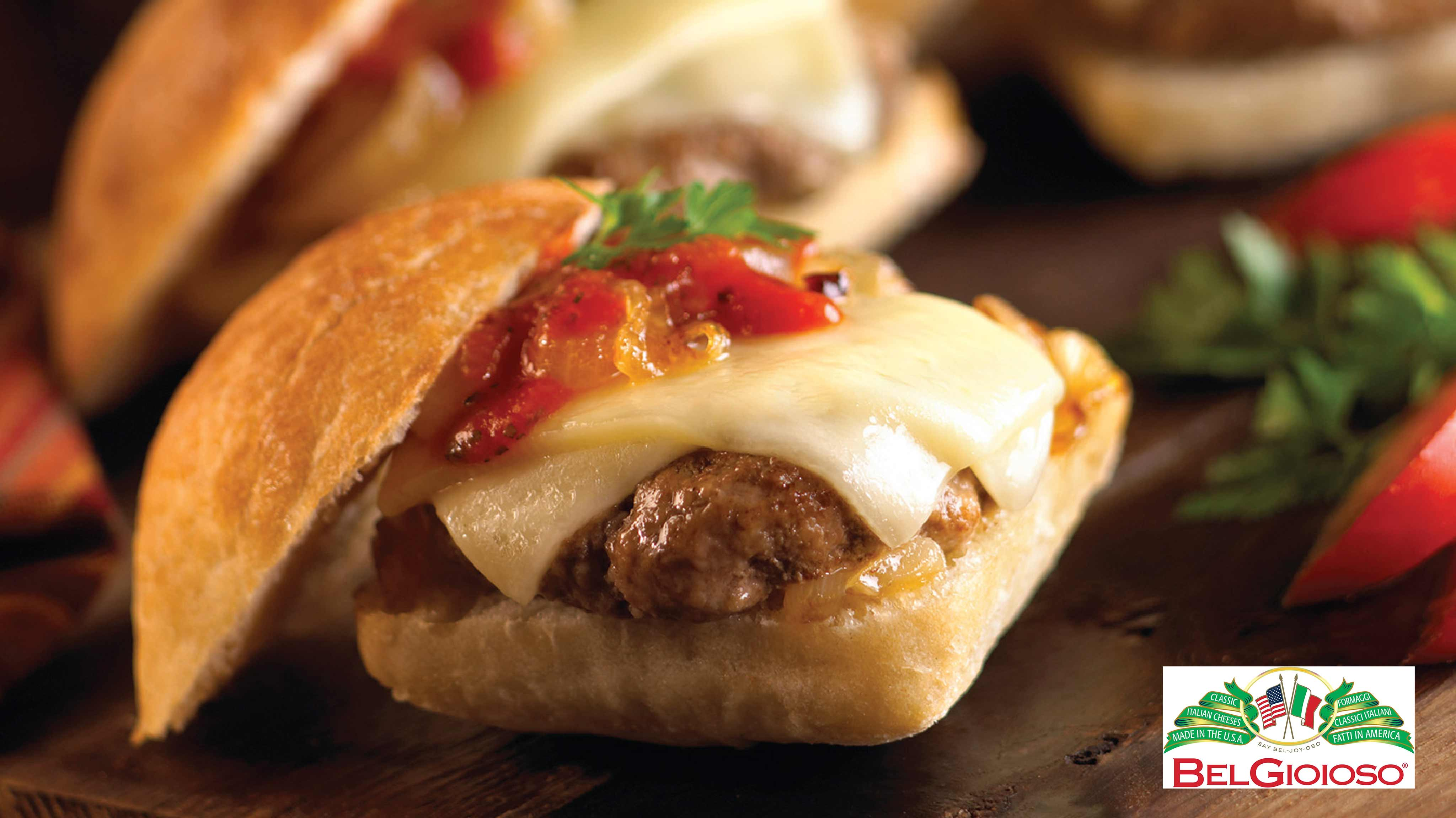 Image for Recipe Meatball Asiago Sliders