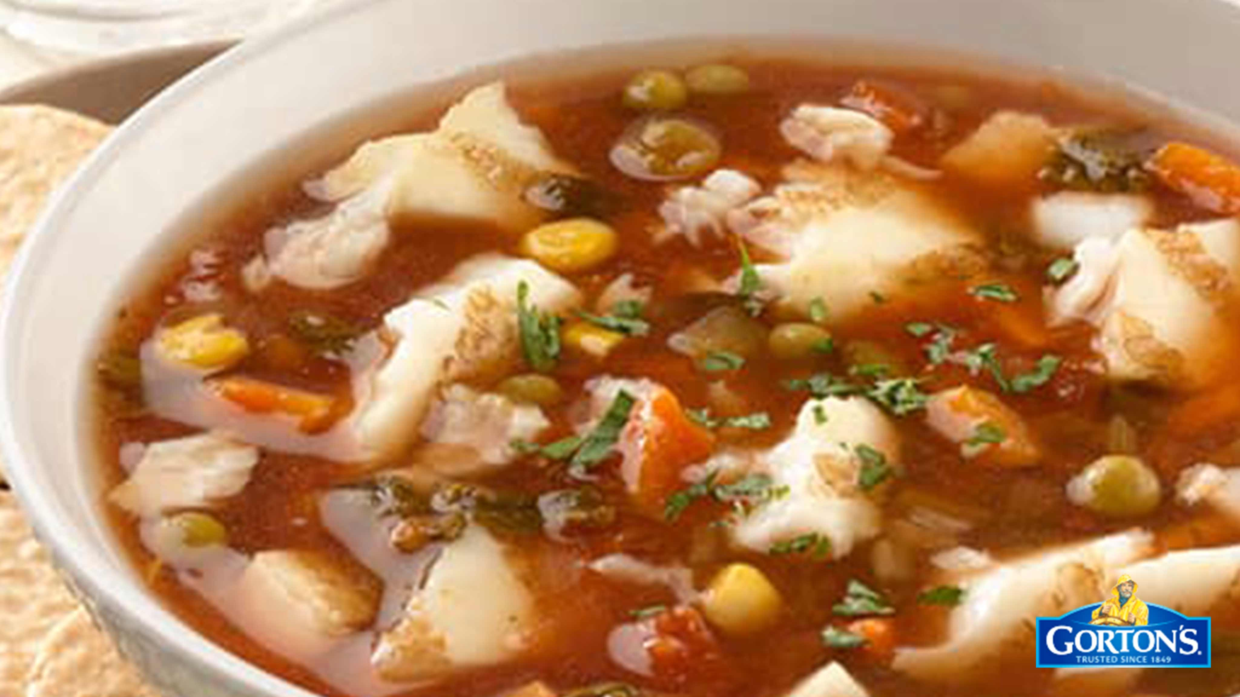 Image for Recipe Quick Gluten Free Seafood Soup