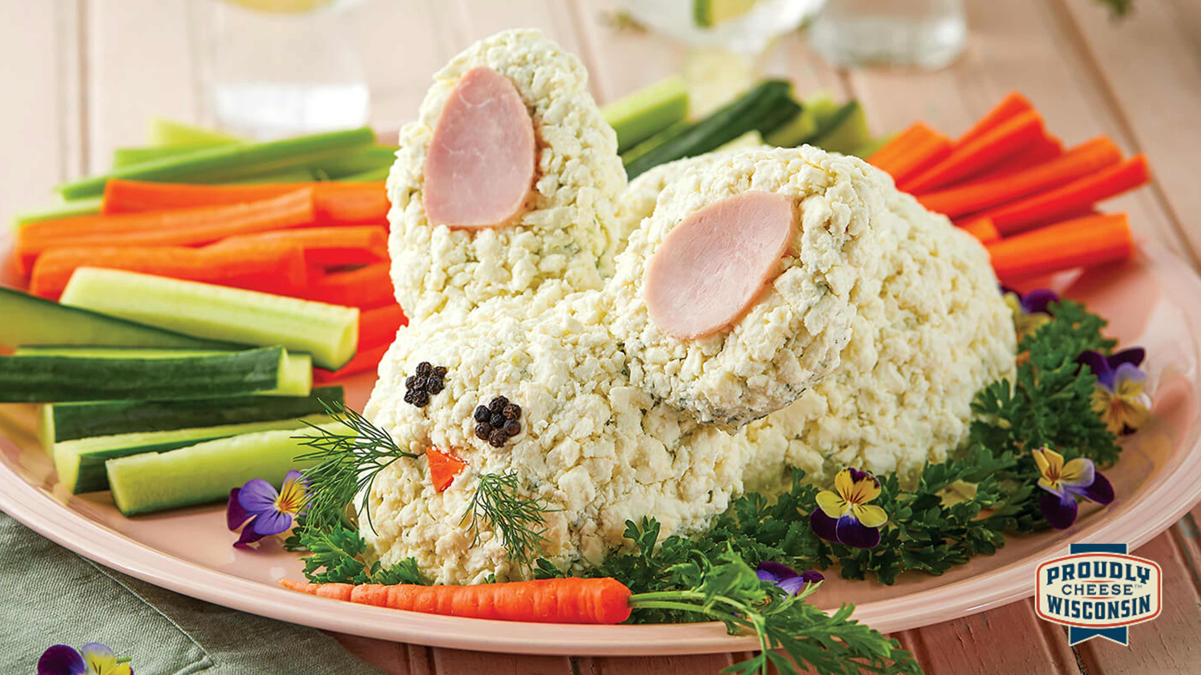 Image for Recipe Easter Bunny Cheese Ball