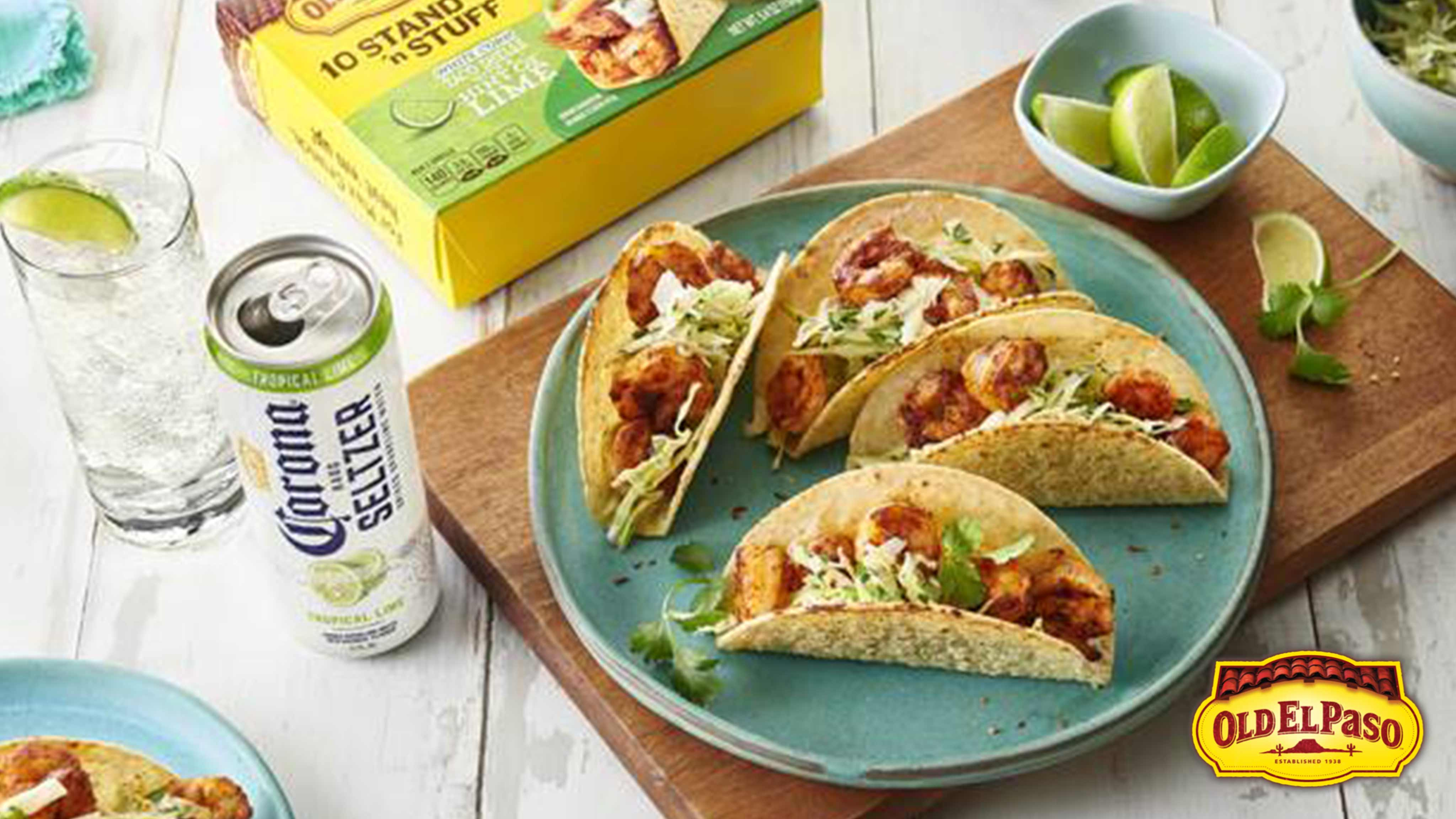 Image for Recipe Shrimp Tacos with Creamy Lime Slaw