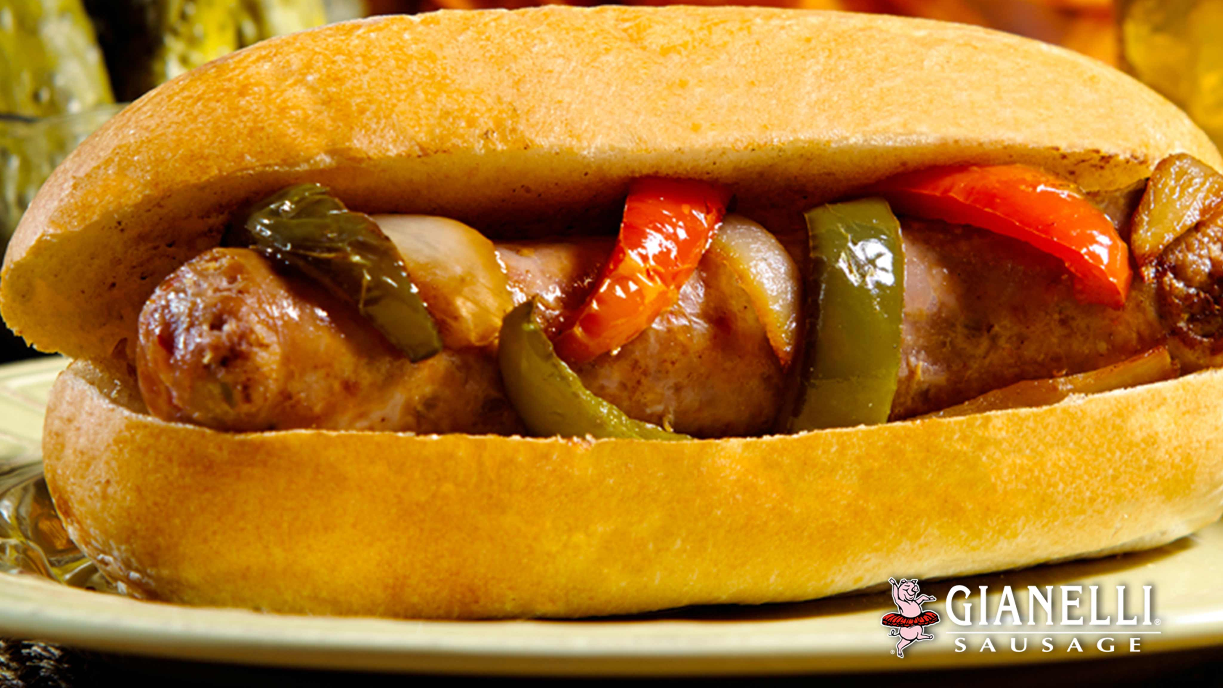 Image for Recipe Traditional Gianelli State Fair Sausage Sandwich