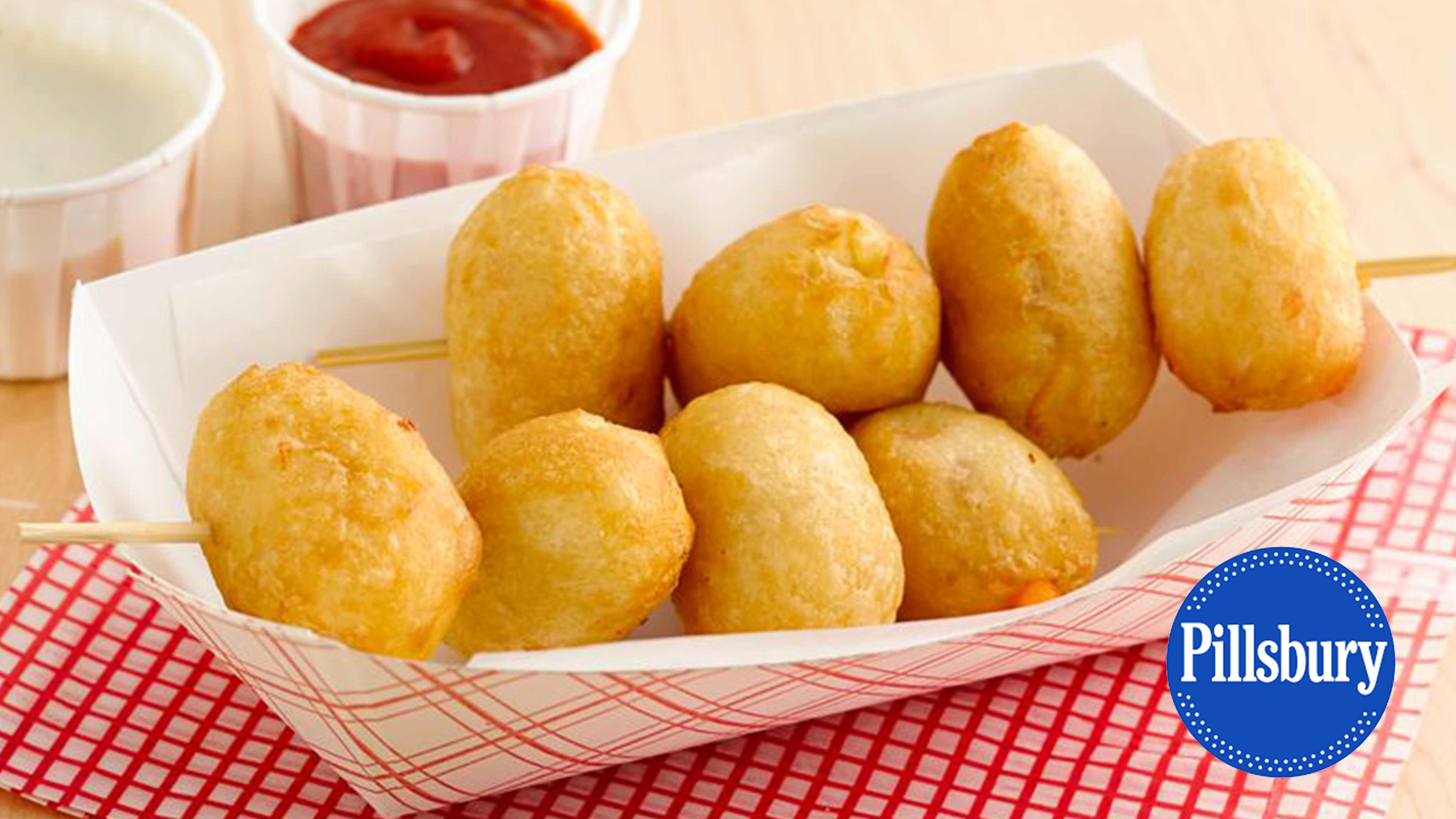Image for Recipe State Fair Crescent Cheese Curds