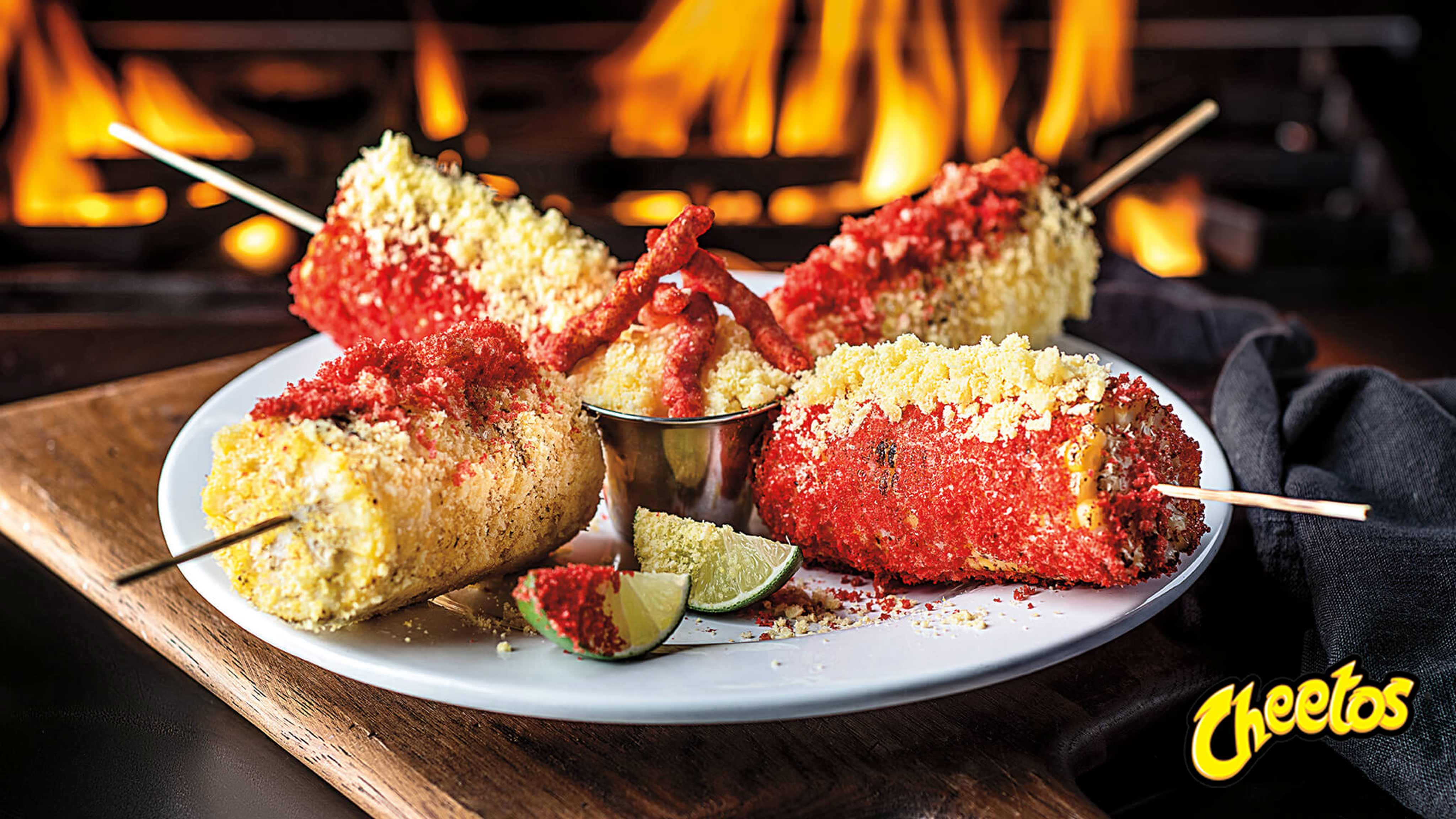 Image for Recipe CHEETOS Flamin Hot Elotes