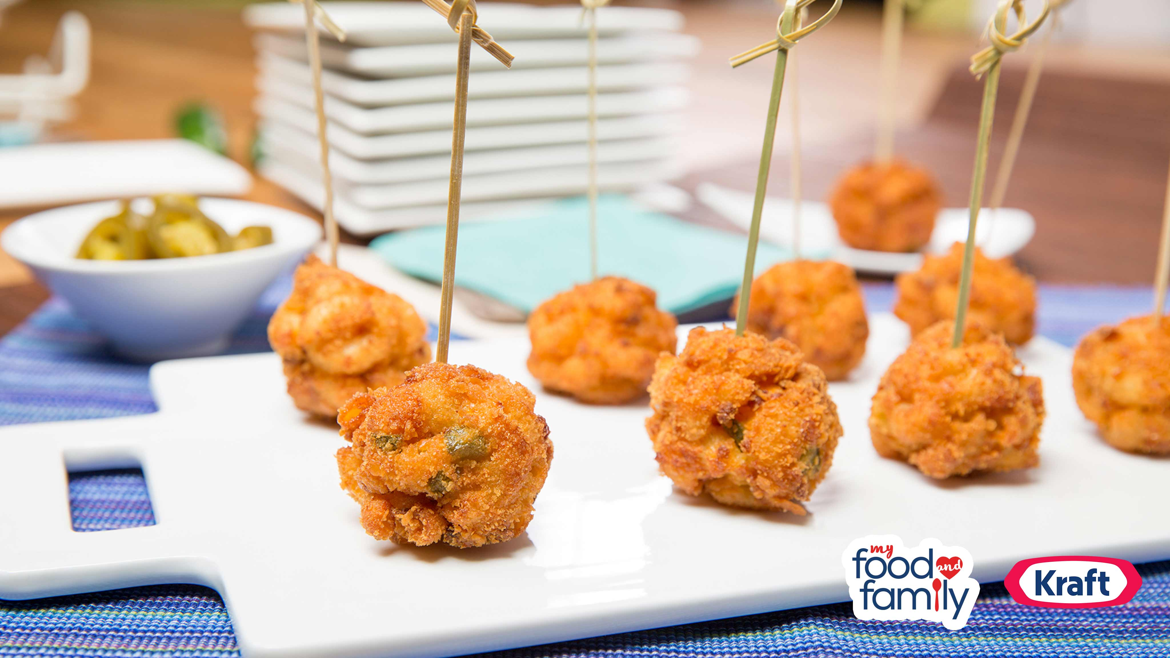 Image for Recipe Mac and Cheese Jalapeno Bites