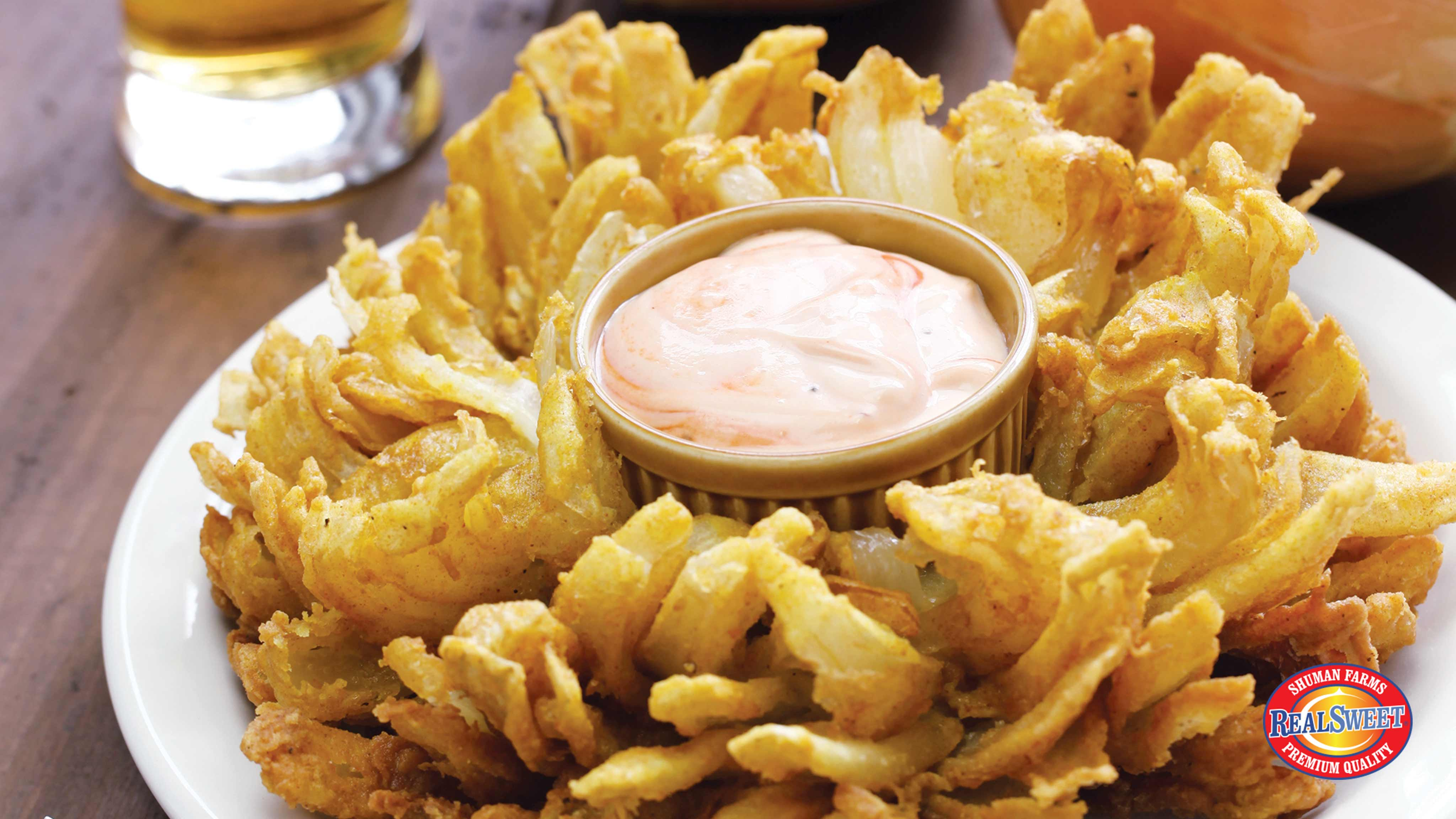 Image for Recipe Steakhouse Style Bloomin' Sweet Onion