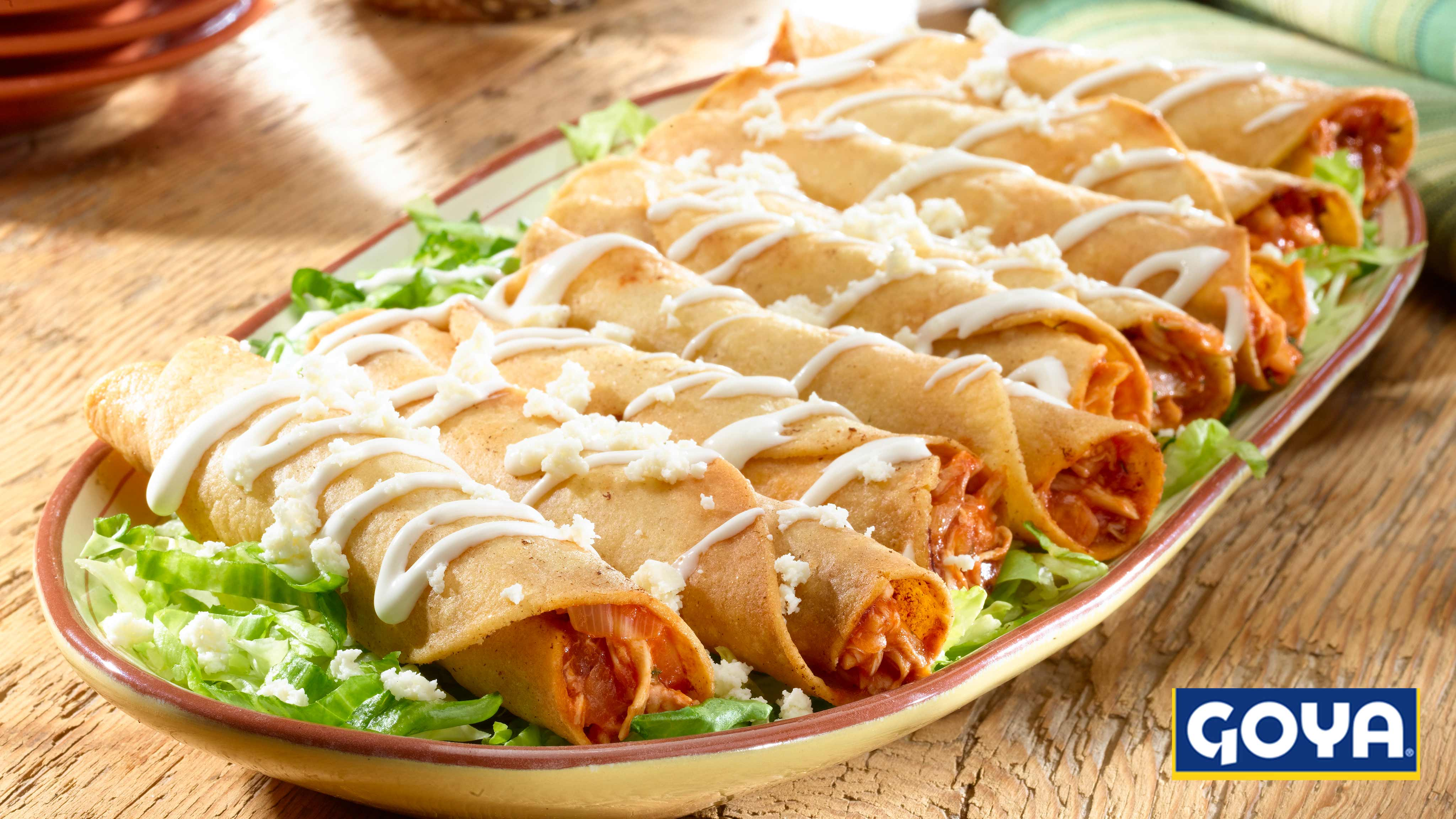 Image for Recipe Chicken Flautas (Flautas de Pollo)