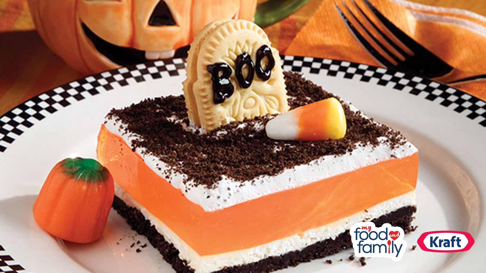 Image for Recipe Spooky Halloween Dessert