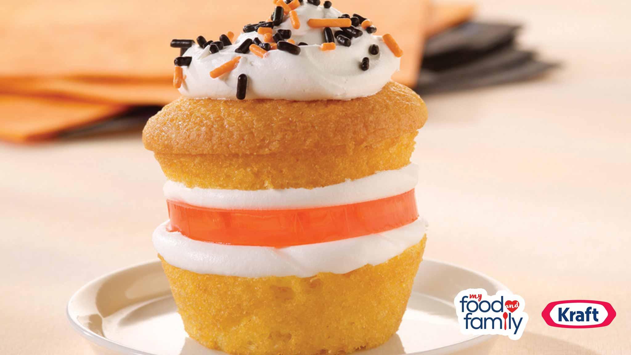 Image for Recipe Wigglin' Jigglin' Cupcakes
