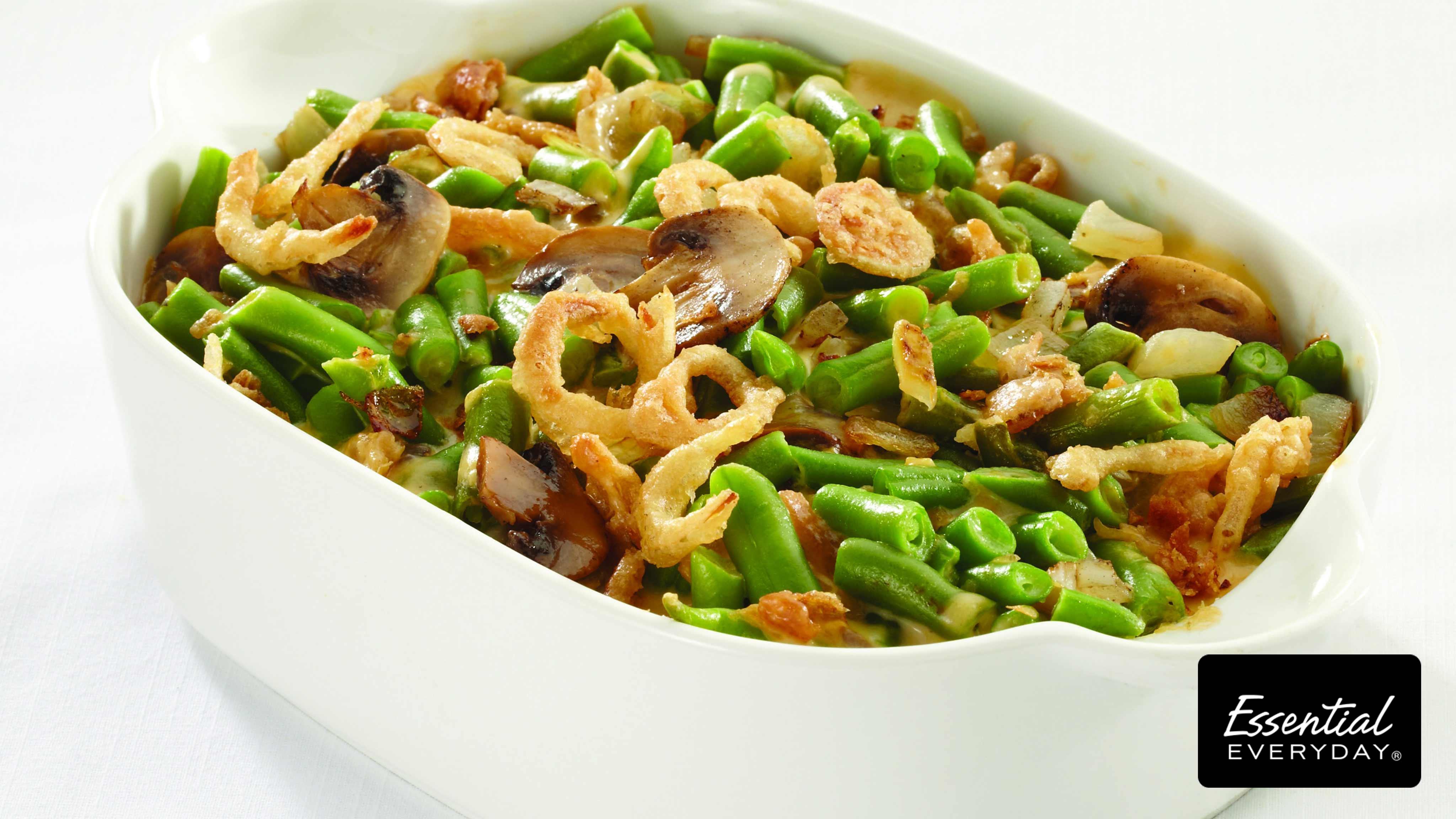 Image for Recipe Cheesy Green Bean Casserole