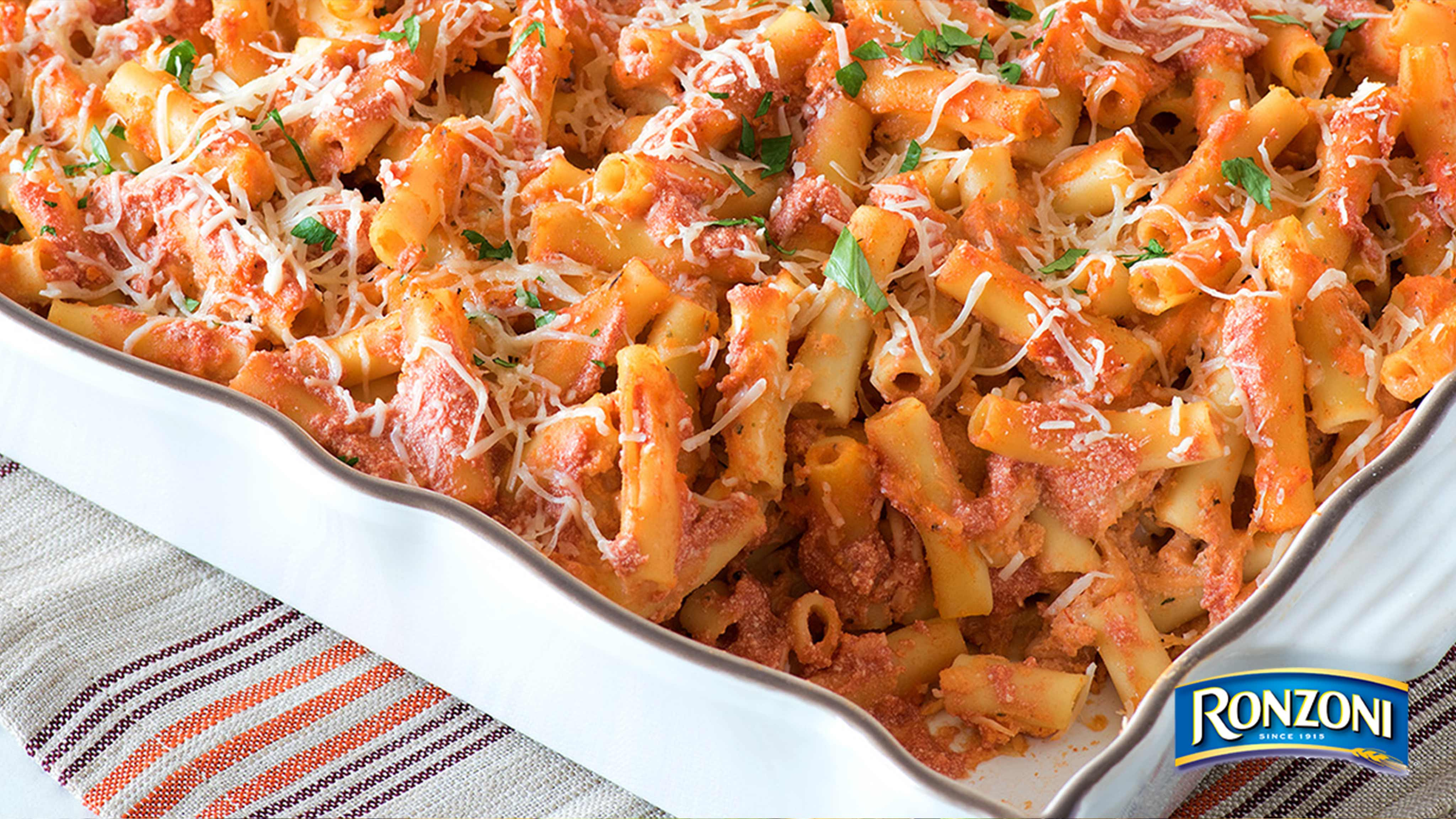 Image for Recipe Meatless Baked Ziti