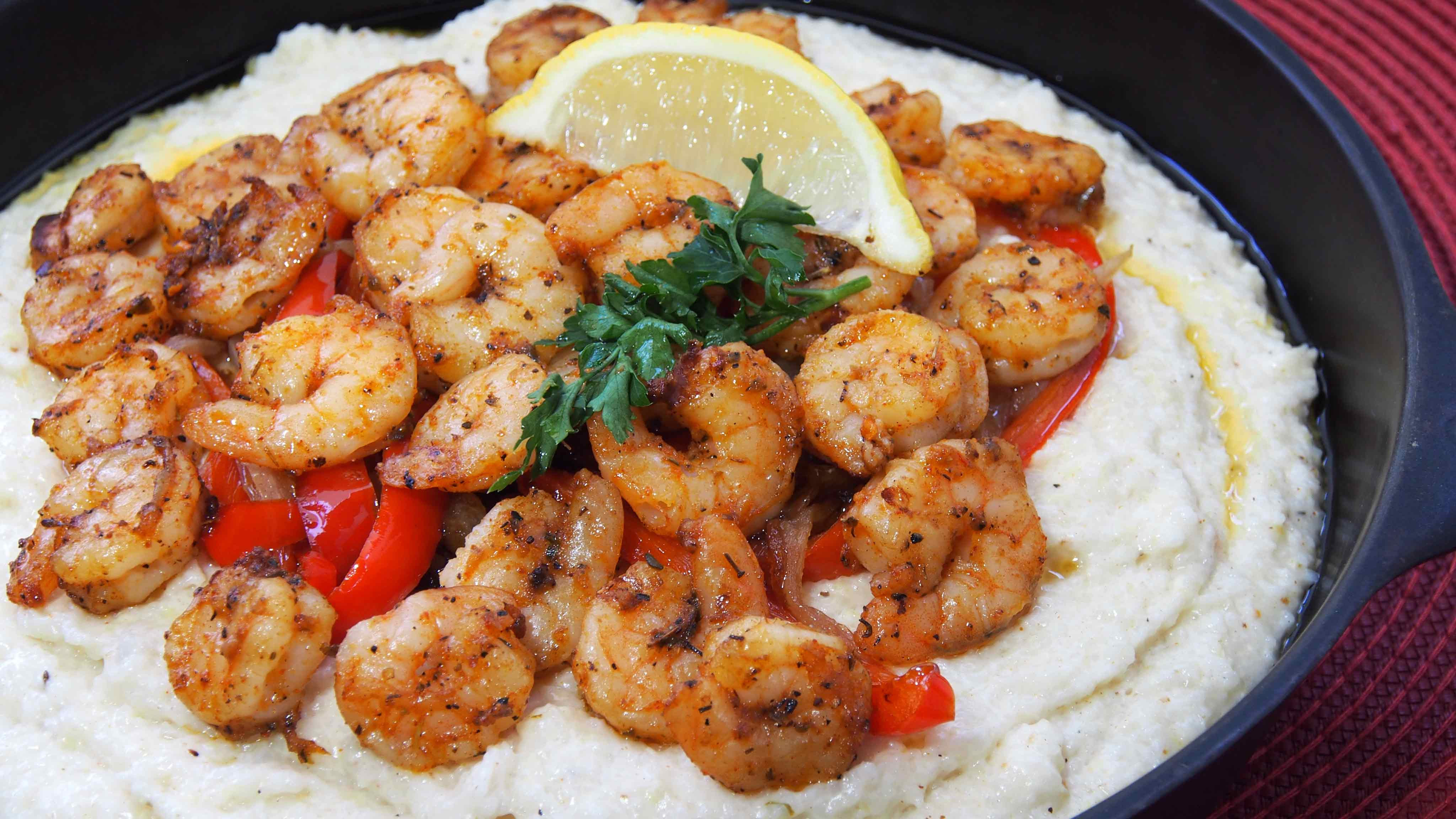Image for Recipe Cajun Shrimp and Grits