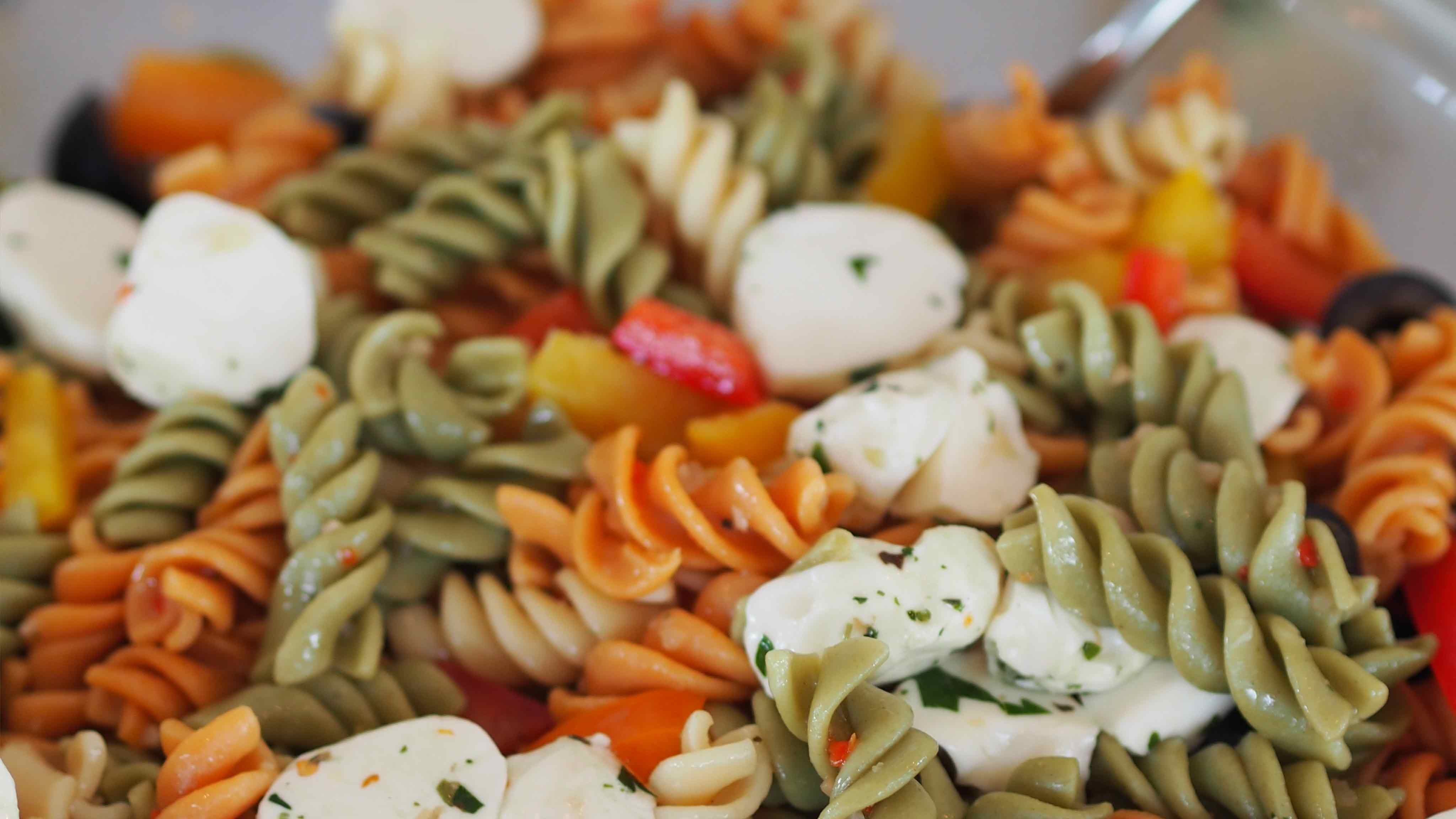 Image for Recipe Three Pepper Pasta Salad
