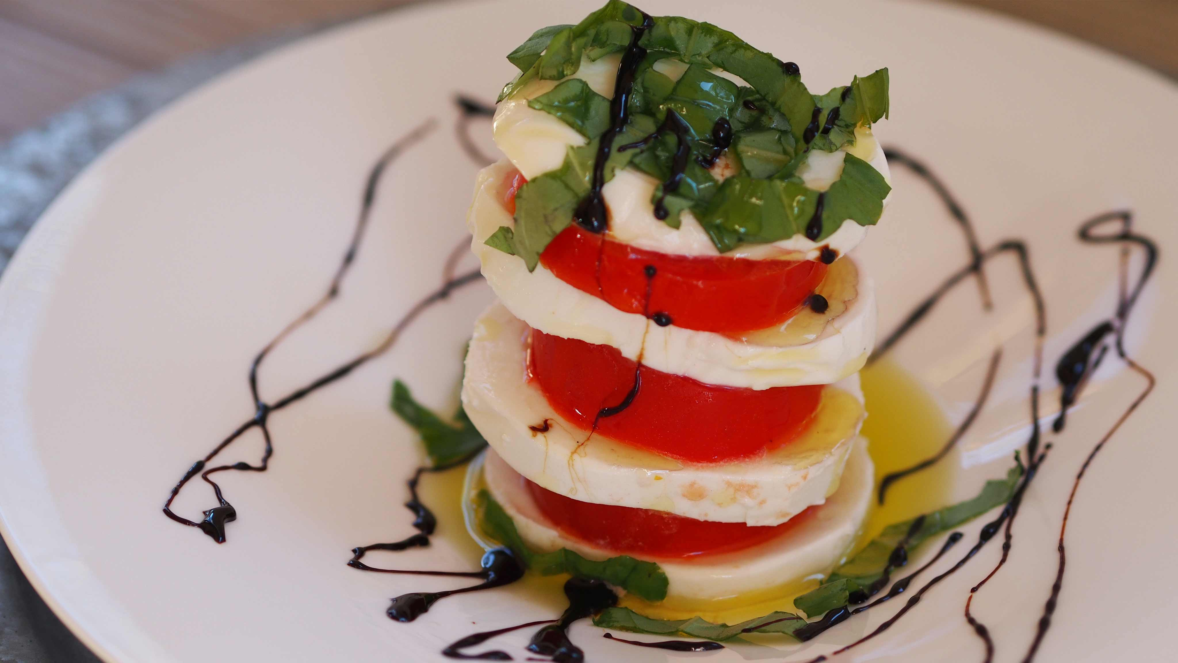 Image for Recipe Tomato Caprese Stack